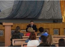 Встреча студентов с сотрудниками  уголовного розыска и отдела по делам несовершеннолетних МВД России по г. Симферополю