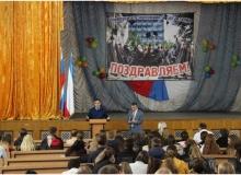 Мероприятие с представителями прокуратуры города Симферополя на тему: «Особенности уголовной ответственности при рассмотрении дел несовершеннолетних»